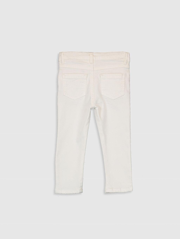 %97 Pamuk %3 Elastan  Erkek Bebek Gabardin Pantolon