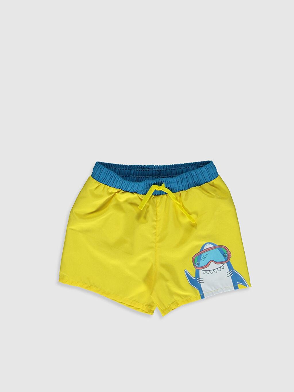 Sarı Erkek Bebek Baskılı Mayo 0S6522Z1 LC Waikiki