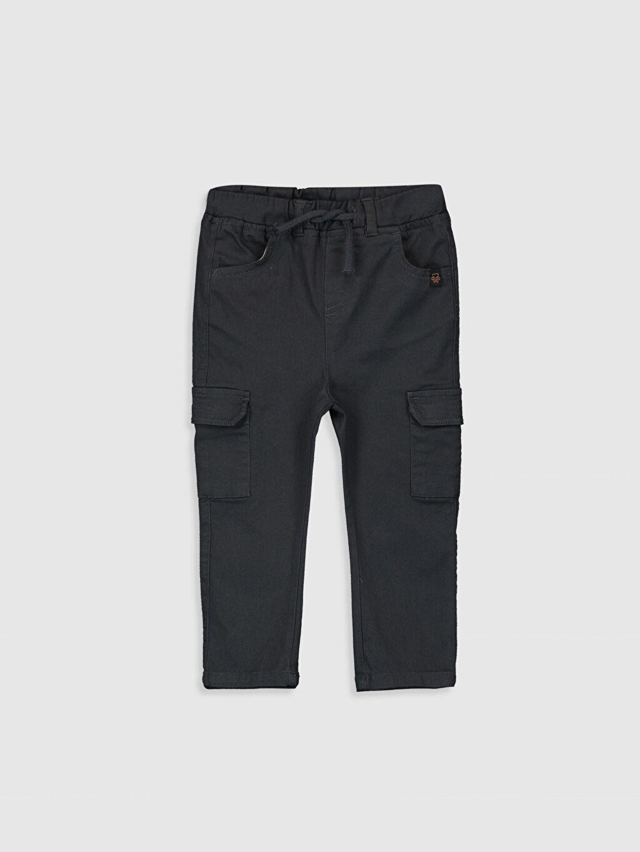 Antrasit Erkek Bebek Kargo Cepli Pantolon 0S6710Z1 LC Waikiki