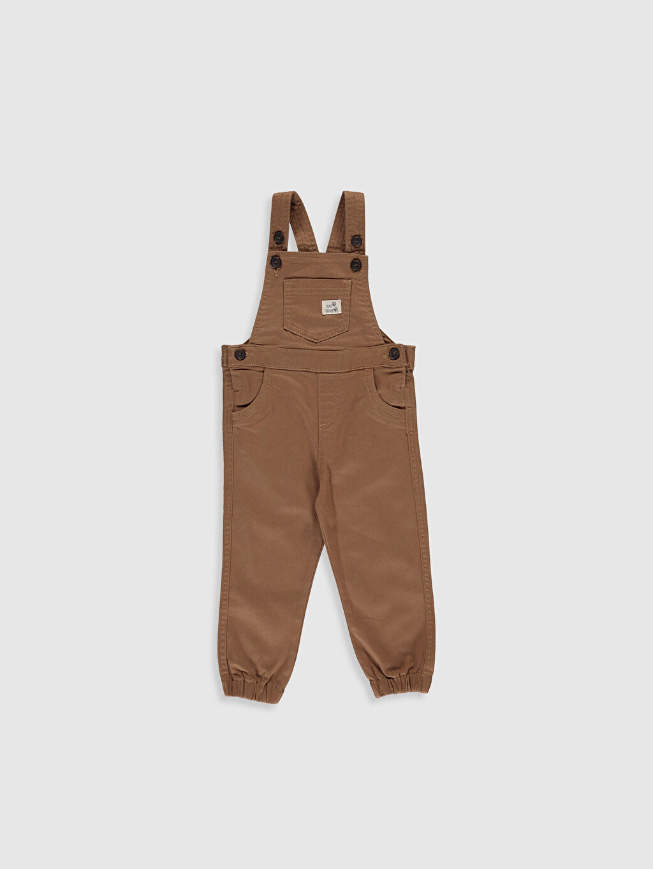 Kahverengi Erkek Bebek Salopet 0S6762Z1 LC Waikiki