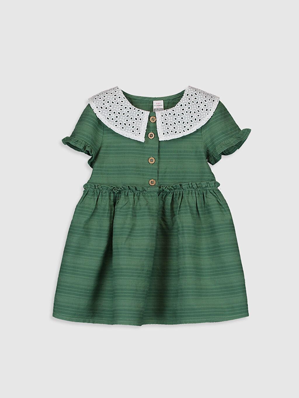Yeşil Elbise 0S7013Z1 LC Waikiki