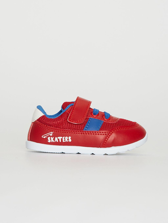 Kırmızı Erkek Bebek Günlük Spor Ayakkabı 0S7053Z1 LC Waikiki