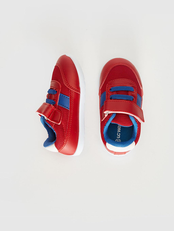 %0 Diğer malzeme (pvc) %0 Tekstil malzemeleri (%100 poliester)  Erkek Bebek Günlük Spor Ayakkabı