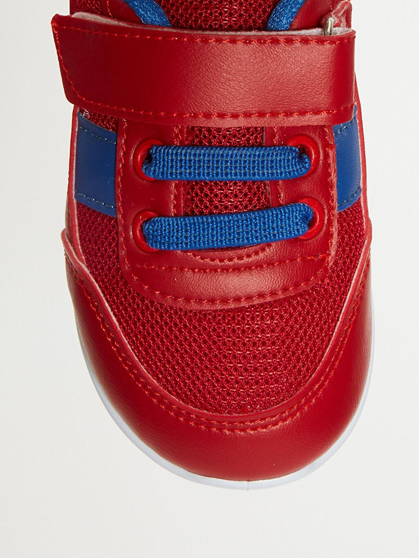 LC Waikiki Kırmızı Erkek Bebek Günlük Spor Ayakkabı