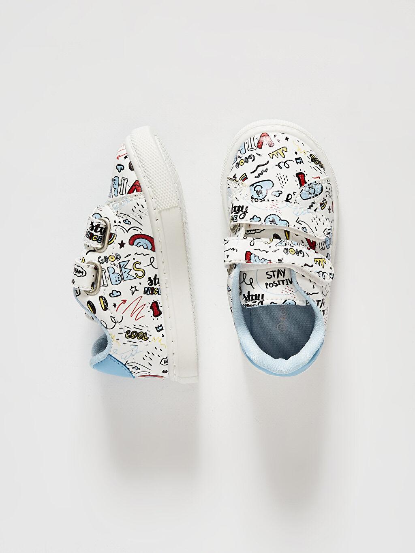 Diğer malzeme (pvc)  Erkek Bebek Cırt Cırtlı Günlük Ayakkabı