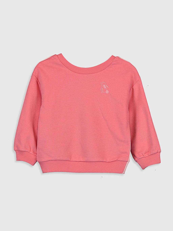 %68 Pamuk %32 Polyester  Kız Bebek Sweatshirt