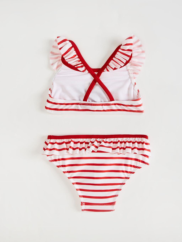 %81 Polyester %19 Elastan %91 Polyester %9 Elastan  Kırmızı Bikini
