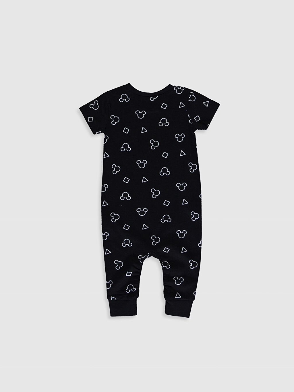 %100 Pamuk Tulum Erkek Bebek Mickey Mouse Baskılı