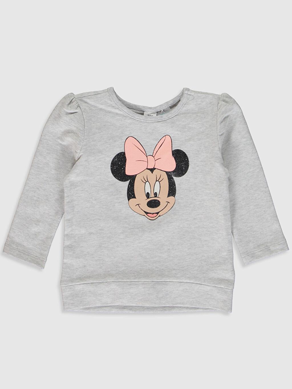 Kız Bebek Kız Bebek Minnie Mouse Baskılı Tişört 2'li