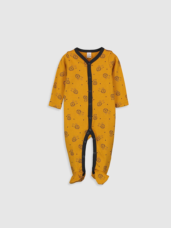 Sarı Erkek Bebek Baskılı Tulum 0S8339Z1 LC Waikiki