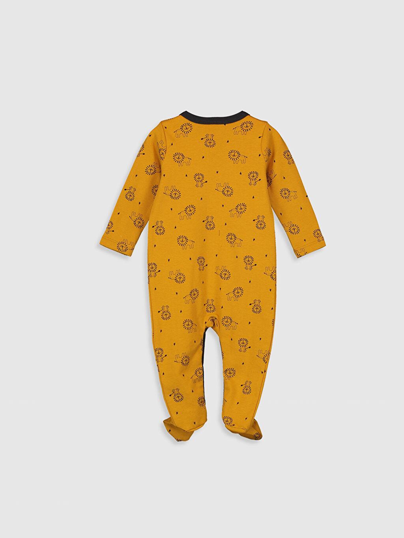 %100 Pamuk Standart Tulum Erkek Bebek Baskılı Tulum