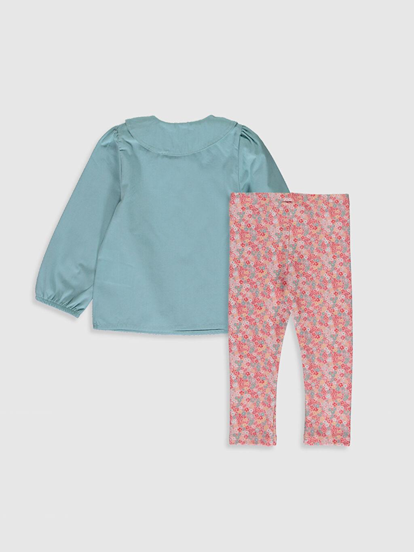 %100 Pamuk %96 Pamuk %4 Elastan  Kız Bebek Bluz ve Pantolon
