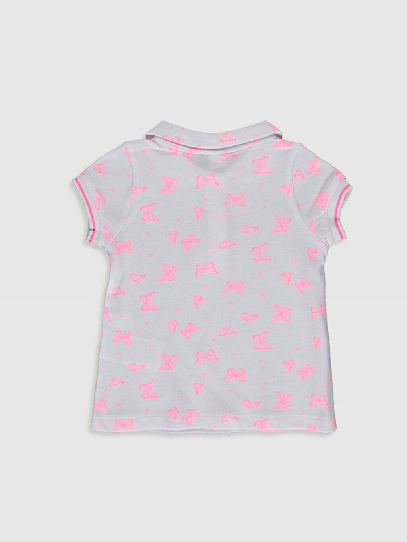 %100 Pamuk Standart Baskılı Kısa Kol Tişört Diğer Kız Bebek Desenli Pamuklu Tişört