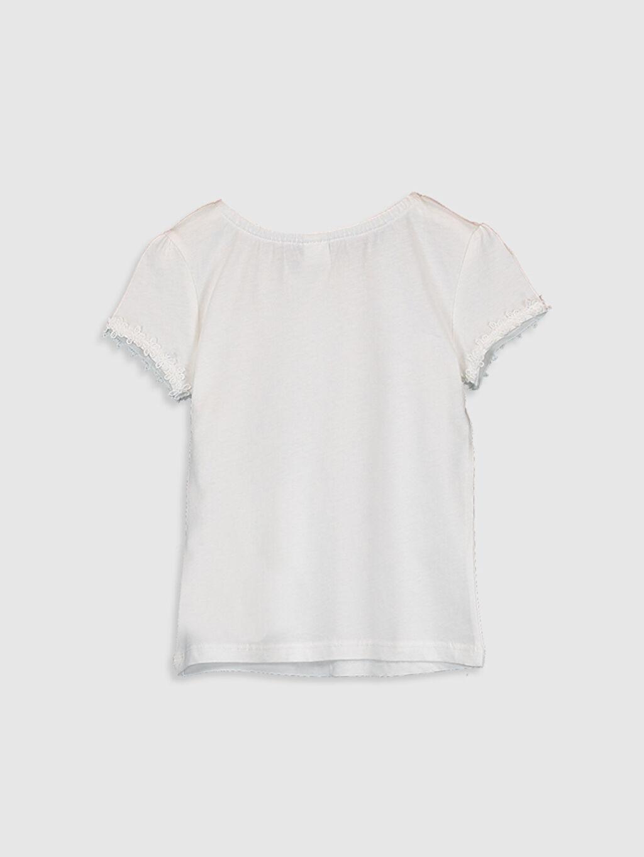 %100 Pamuk Standart Düz Kısa Kol Tişört Bisiklet Yaka Kız Bebek Basic Pamuklu Tişört