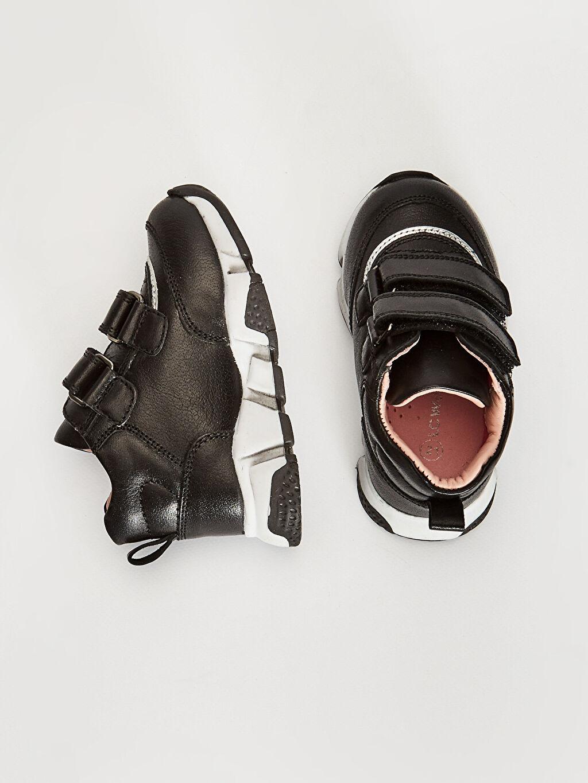 Deri  Kız Bebek Hakiki Deri Günlük Spor Ayakkabı