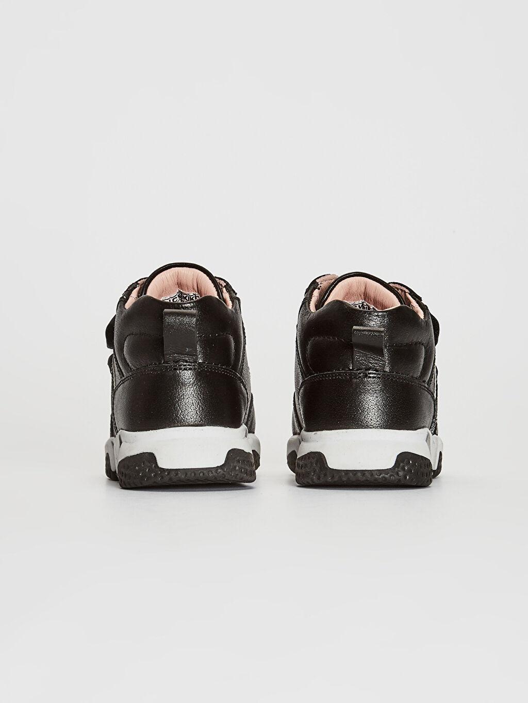 Kız Bebek Hakiki Deri Günlük Spor Ayakkabı