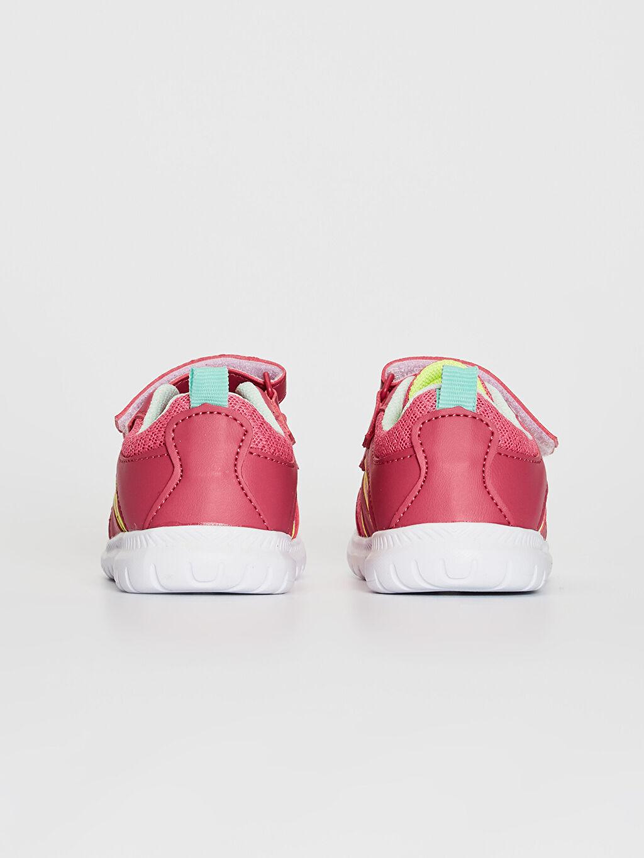 Kız Bebek Cırt Cırtlı Günlük Spor Ayakkabı