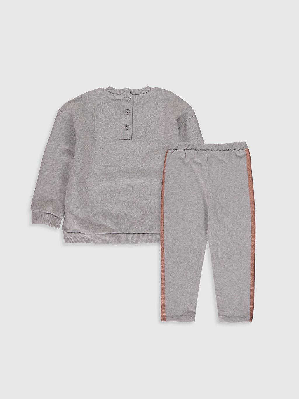 %68 Pamuk %32 Polyester %68 Pamuk %32 Polyester  Kız Bebek Baskılı Pijama Takım