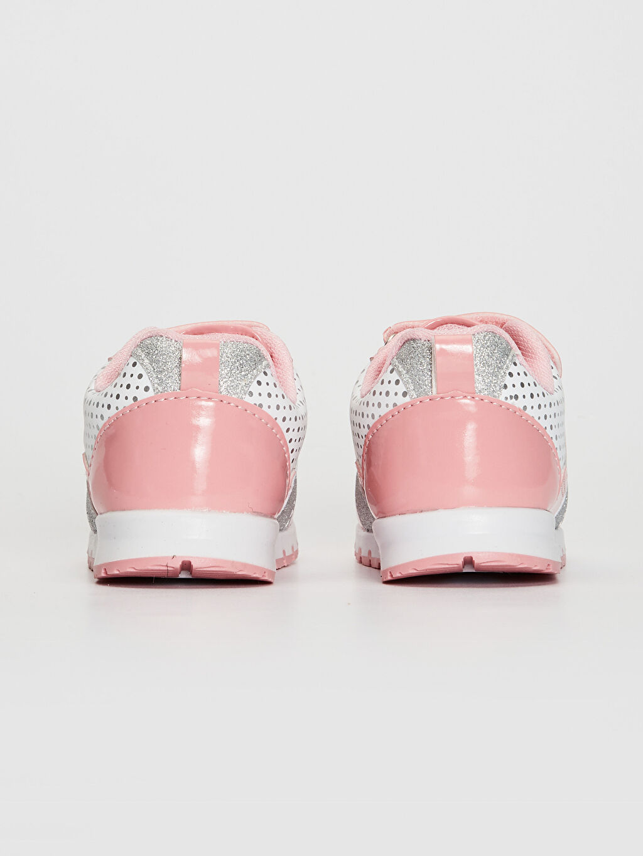 Kız Bebek Minnie Mouse Baskılı Günlük Spor Ayakkabı
