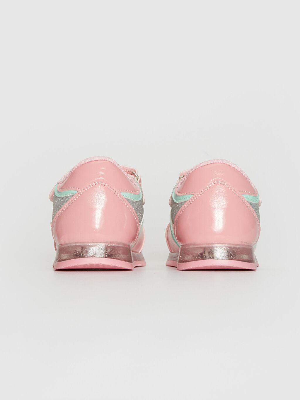 Kız Bebek Sim Detaylı Cırt Cırtlı Spor Ayakkabı