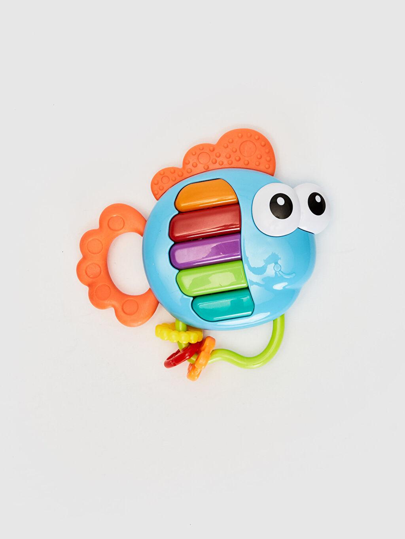 %100 Plastik  Kanz İlk Arkadaşım Piyanolu Minik Dostum Balık Oyuncak