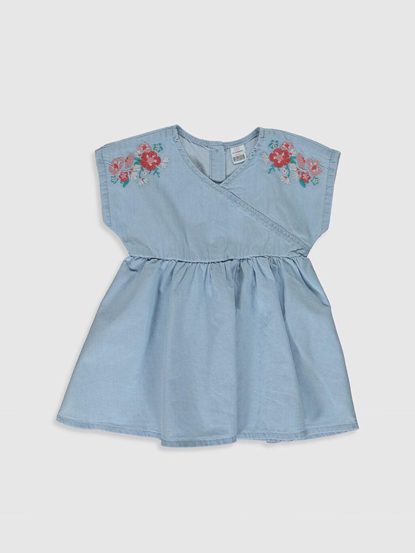 İndigo Kız Bebek Jean Elbise 0SG505Z1 LC Waikiki