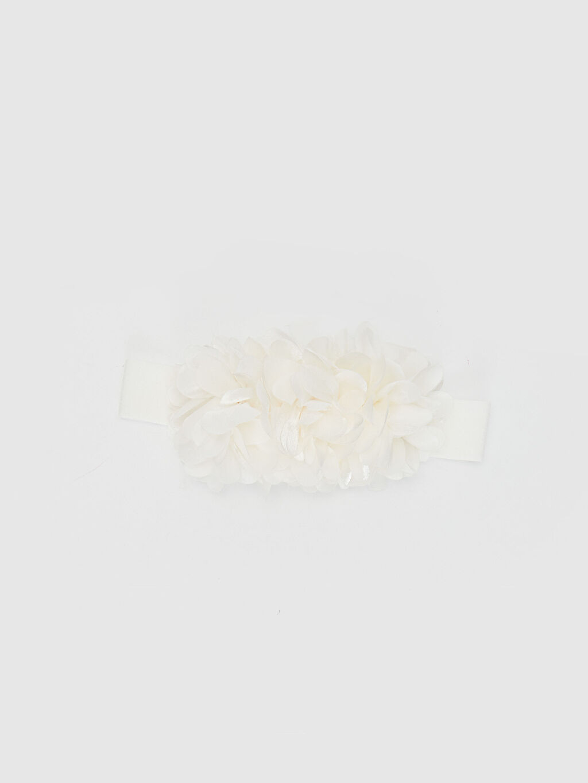 Ekru Kız Bebek Saç Bandı 0SG539Z1 LC Waikiki