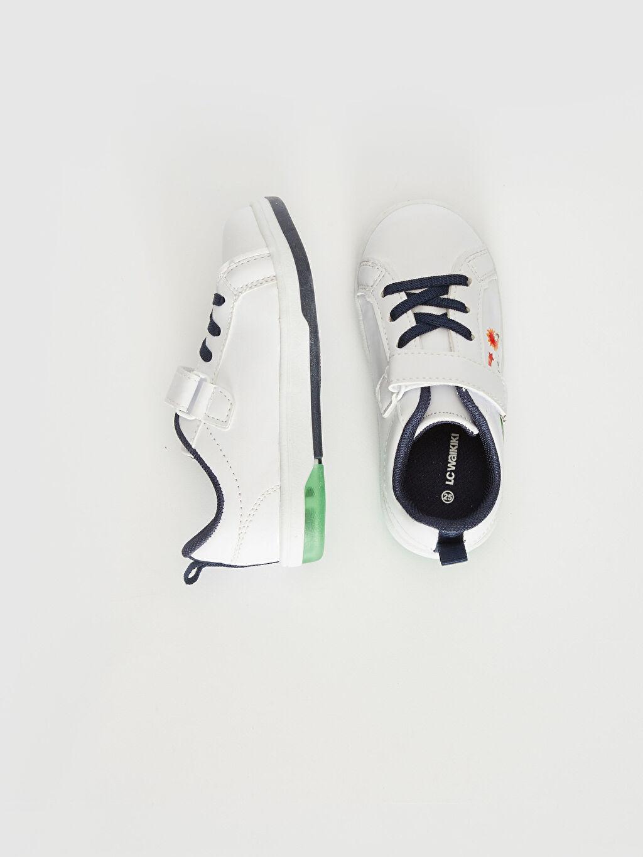 Diğer malzeme (pvc)  Erkek Bebek Işıklı Günlük Spor Ayakkabı