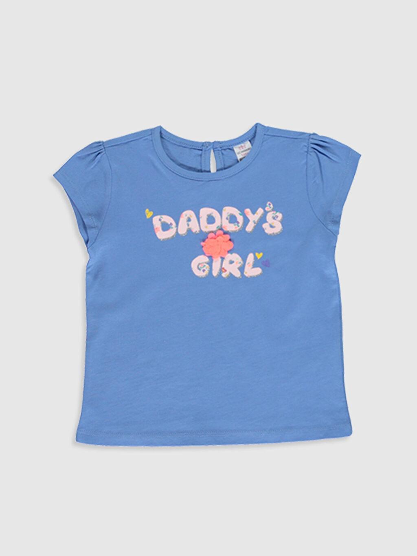 Kız Bebek Kız Bebek Baskılı Tişört 2'li