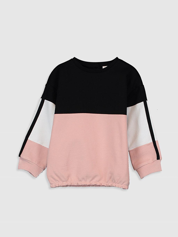 Siyah Sweatshirt 0SG940Z4 LC Waikiki