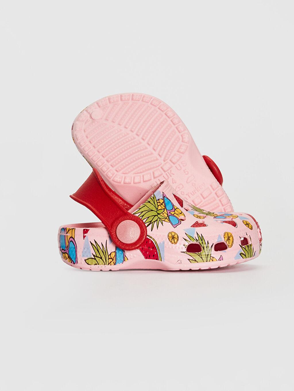 Kız Bebek Kız Bebek Baskılı Sandalet