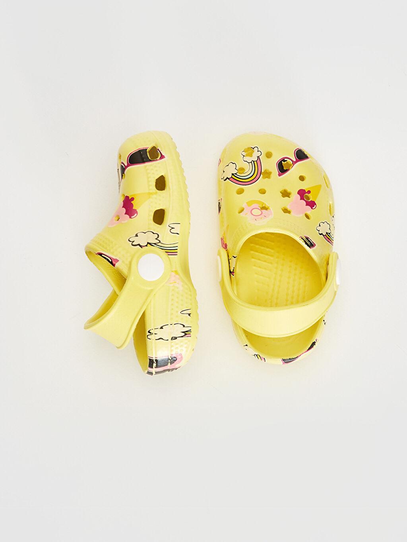 %0 Diğer malzeme (pvc)  Kız Bebek Sandalet