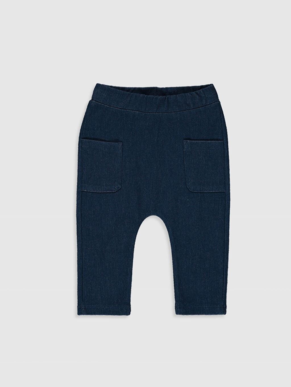 Lacivert Erkek Bebek Pantolon 0SH859Z1 LC Waikiki