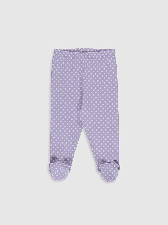 Kız Bebek Çıtçıt Body ve Patikli Pantolon