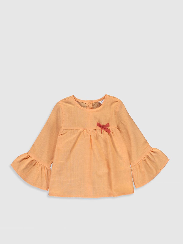 Turuncu Kız Bebek Basic Bluz 0SJ399Z1 LC Waikiki