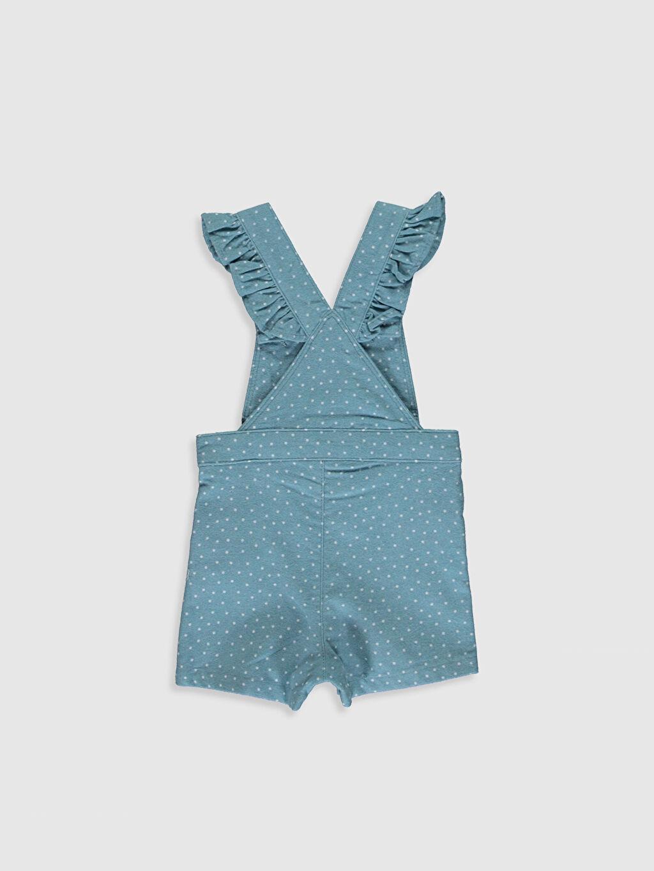 %100 Pamuk  Kız Bebek Salopet Elbise