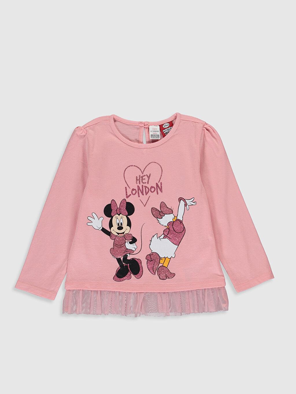 Kız Bebek Kız Bebek Disney Baskılı Takım 2'li