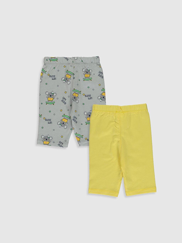 %100 Pamuk Standart Pijamalar Erkek Bebek Pijama Altı 2'li