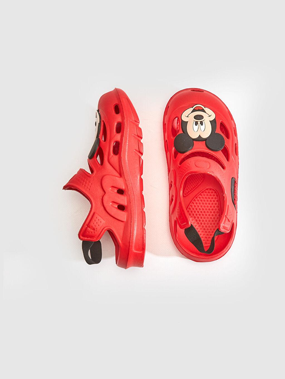 Diğer malzeme (eva)  Erkek Bebek Mickey Mouse Sandalet