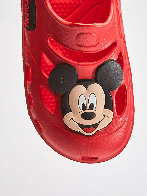 LC Waikiki Kırmızı Erkek Bebek Mickey Mouse Sandalet