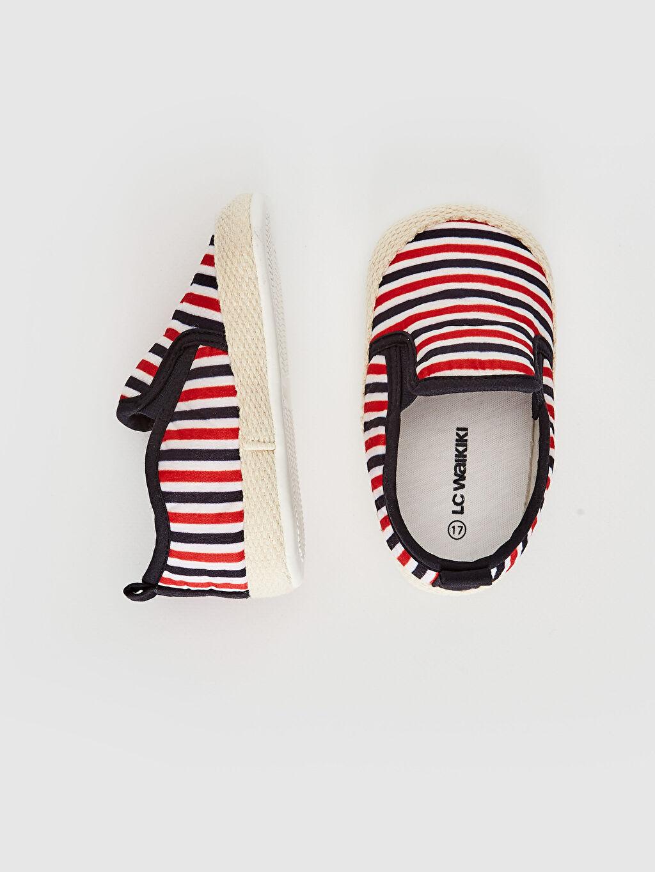 %0 Tekstil malzemeleri (%100 pamuk)  Erkek Bebek Espadril Yürüme Öncesi Ayakkabı