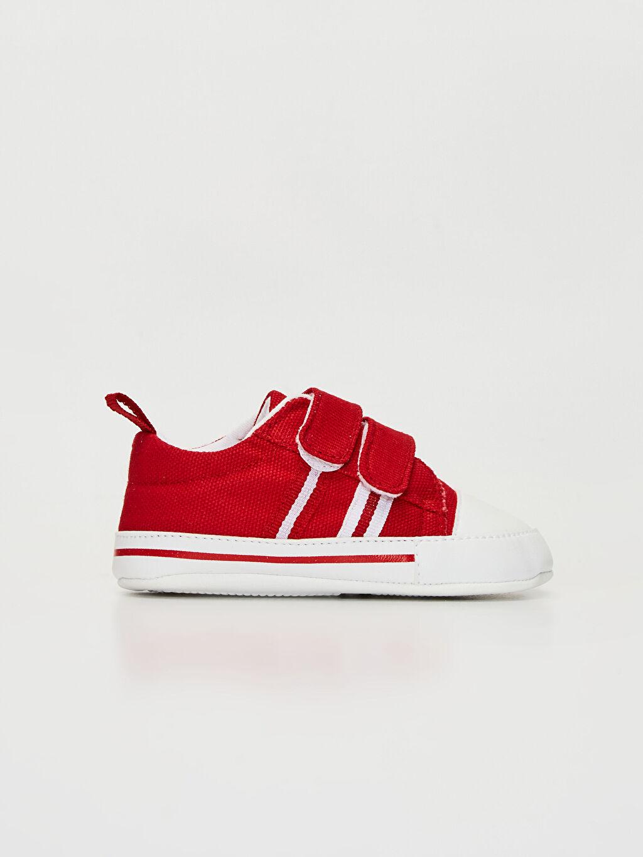 Kırmızı Erkek Bebek Yürüme Öncesi Ayakkabı 0SK828Z1 LC Waikiki