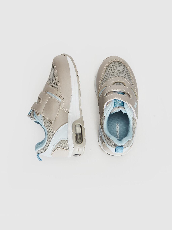 %0 Diğer malzeme (poliüretan) %0 Tekstil malzemeleri (%100 poliester)  Erkek Bebek Air Taban Cırt Cırtlı Günlük Ayakkabı