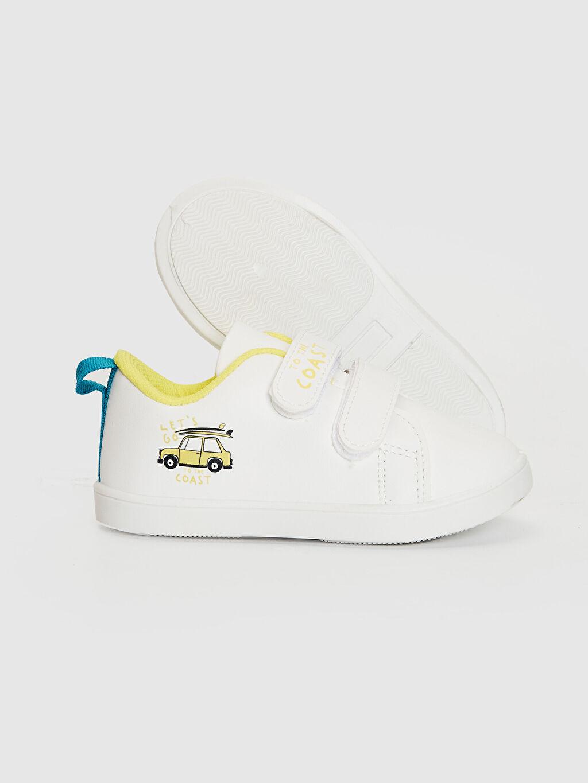 Erkek Bebek Erkek Bebek Cırt Cırtlı Günlük Spor Ayakkabı
