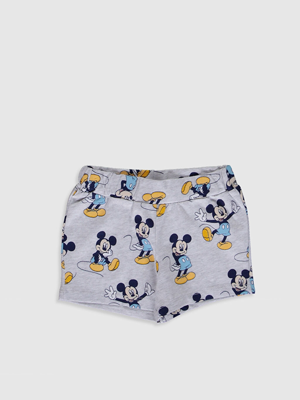 Erkek Bebek Disney Baskılı Şort 2'li