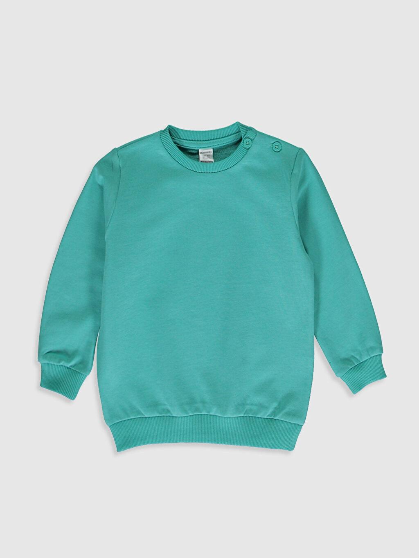 Turkuaz Erkek Bebek Sweatshirt 0SM379Z1 LC Waikiki