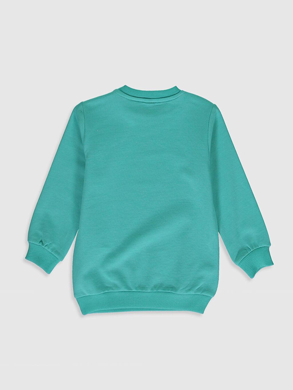 %82 Pamuk %18 Polyester  Erkek Bebek Sweatshirt