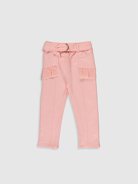 Pembe Kız Bebek Pantolon 0SN066Z1 LC Waikiki