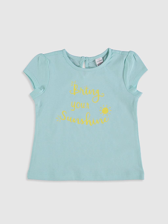 Kız Bebek Kız Bebek Baskılı Tişört ve Tayt