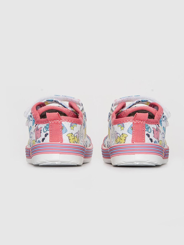 Kız Bebek Cırt Cırtlı Günlük Ayakkabı